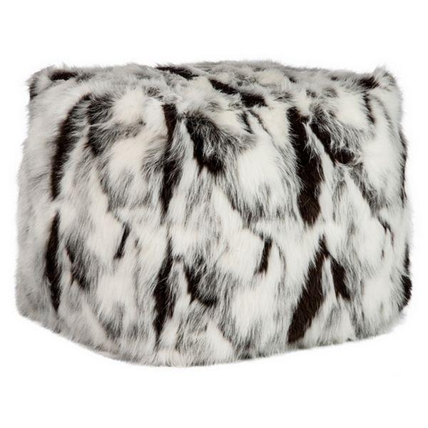 Le Pouf en fourrure qui réchauffe votre intérieur ! #winter #noel #pouf #cocooning #decoration #interior #home