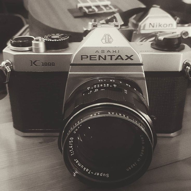 Pentax K1000 Super Takumar 50mm. #camera #film #shootfilm #pentax #k1000 #pentaxk1000 #pentaxfeatures #filmisnotdead #gear #35mm #goodweatherforducks #analog