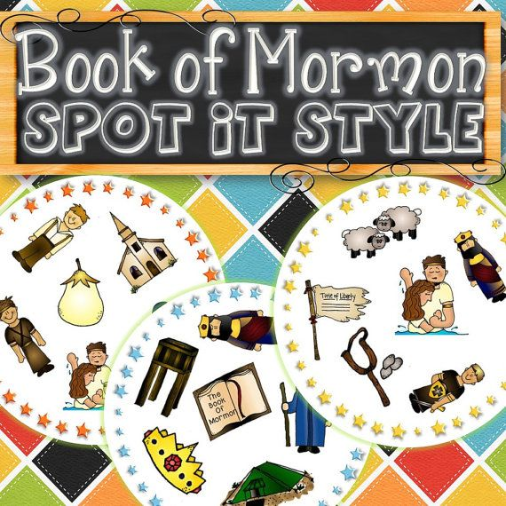 ★ STORIES AND MORE GAMES - http://etsy.me/1rnsBJC A fun activity on Sundays, during General Conference, or for FHE to teach children characters from