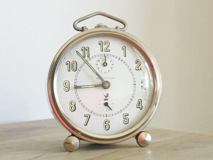 Jaz alarm clock - silver