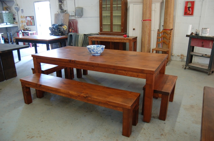 Golden Oak Farm Kitchen Tables And Chairs