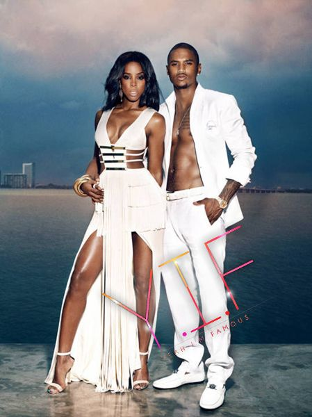 Trey Songz Kelly Rowland Great Ideas For Photo Shoots