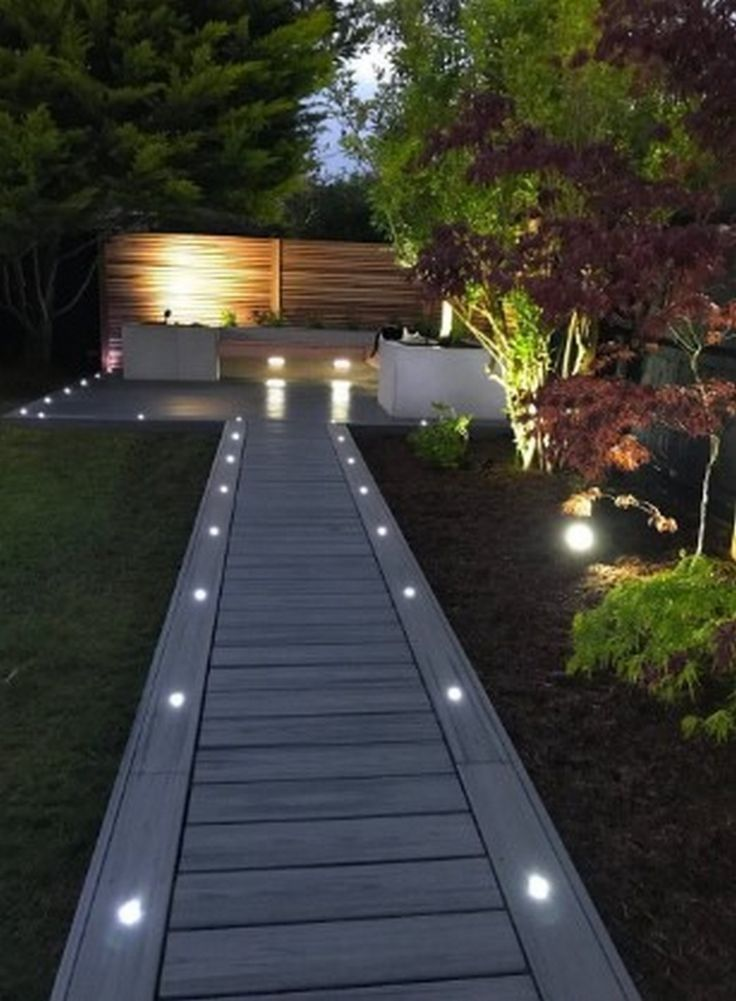 Beautiful Inspiring Backyard Garden Lighting Ideas 38 In 2020