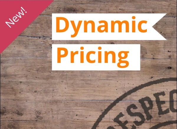 New Dynamic Pricing System @ The Biltong Man - perfectly structured!