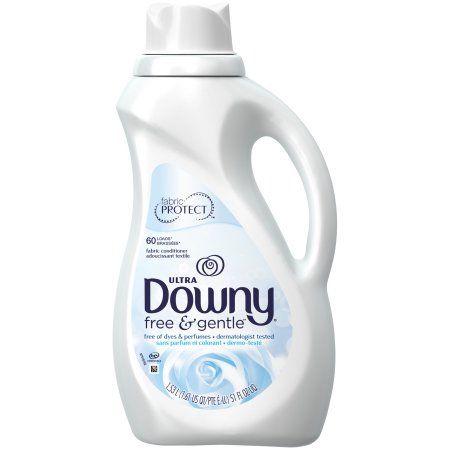 Downy® Ultra Free & Gentle™ Fabric Conditioner 51 fl. oz. Plastic Jug - Walmart.com