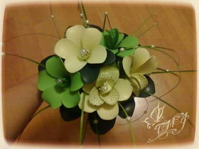 Balloon fantasy flower bouquet by TMJcreative. Különleges lufi virág csokor.