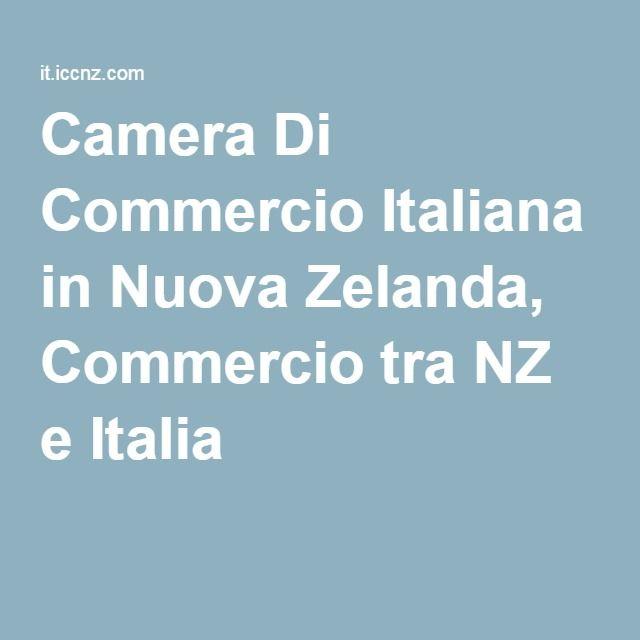 Camera Di Commercio Italiana in Nuova Zelanda, Commercio tra NZ e Italia