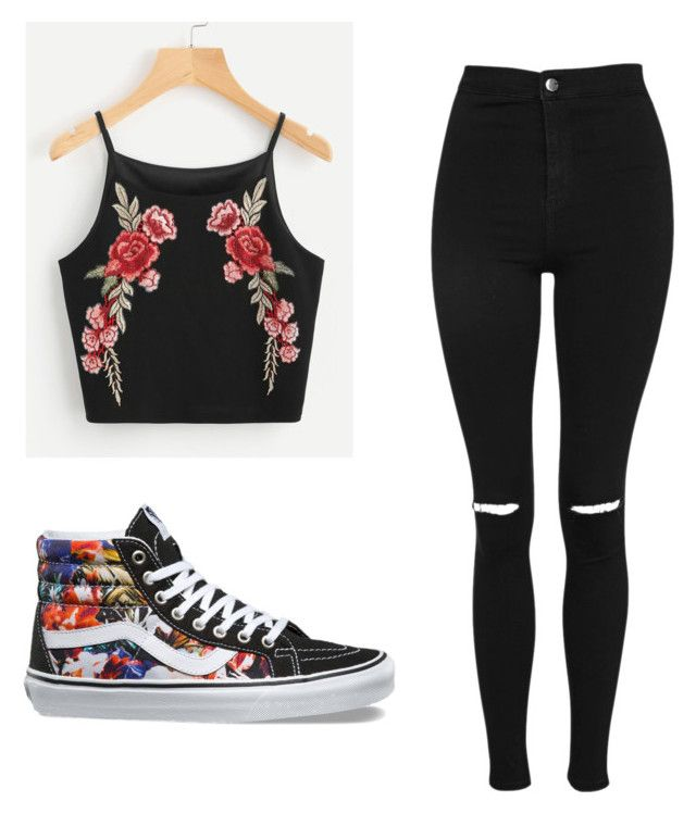"""""""Untitled #39"""" by lhaft on Polyvore featuring Topshop and Vans"""