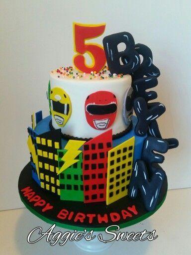 Power rangers cake                                                       …