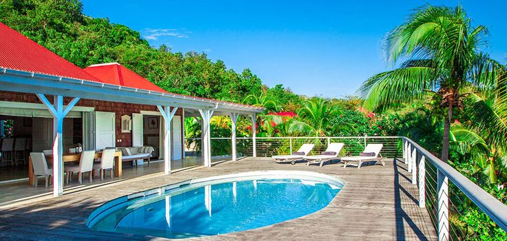 Villa EDEN ISLAND - St. Barths Online | For Rental - Saint Jean Beach - Eden Rock Hotel View - Near Nikki Restaurant - 3 Bedrooms