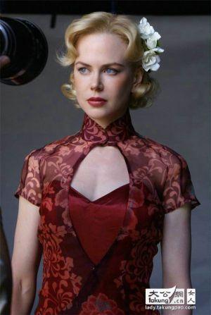 ニコール・キッドマンのクラシカルヘア♪ チャイナドレスに合うヘアスタイルのアイデア 髪型・アレンジ・カットの参考に。