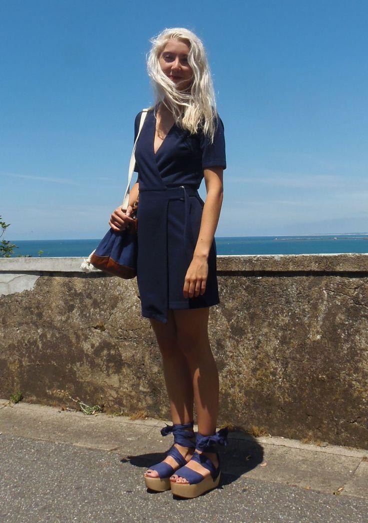 Streetstyle bleu nuit  robe topshop chaussures & other stories sac h&m https://bleu-de-minuit.com/2016/07/13/passion-bleu-nuit/