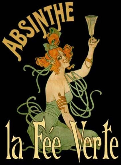 french absinthe poster