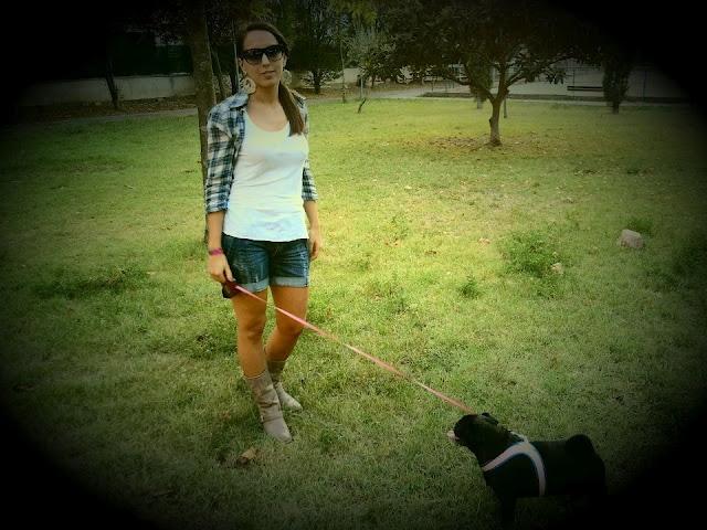 At the park! #thelawoffashion