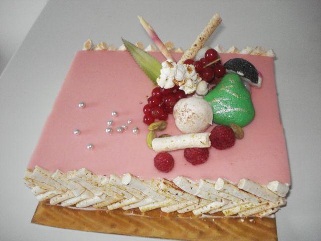 lichee framboise pistache