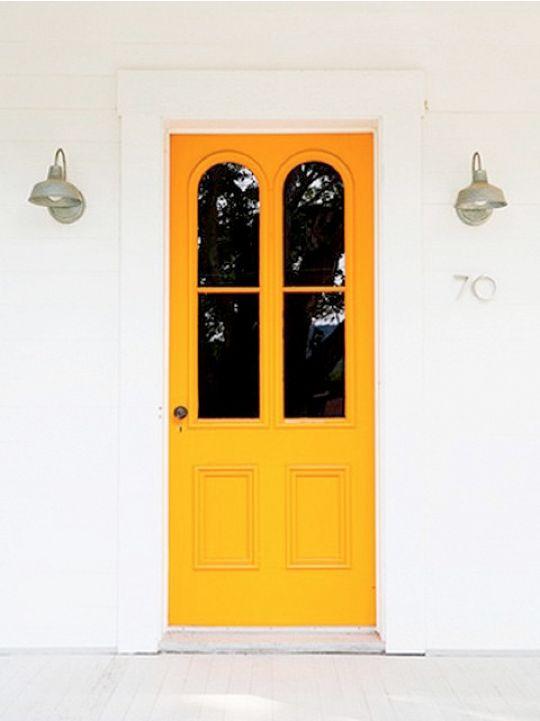 Оранжевая дверь / Orange door