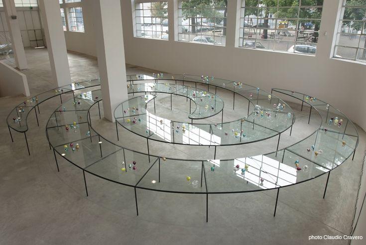 """Mona Hatoum,"""" Natura Morta"""" at  Fondazione Merz"""