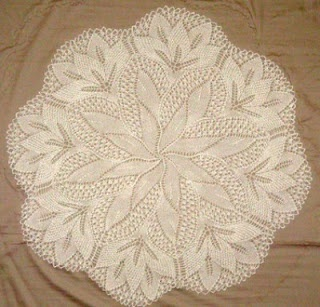 Stunning knit doilies by riknit98 on Ravelry