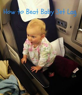 Baby Jet Lag on Plane