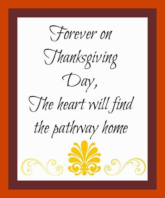 Huckleberry Love: Free Thanksgiving Printable