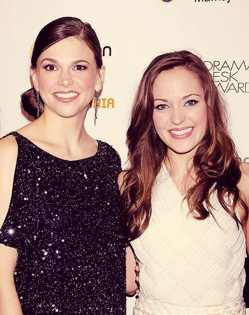 Sutton Foster & Laura Osnes. Two of my favorite people ever in one picture? So much talent!