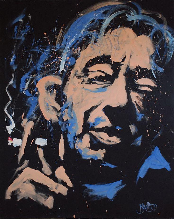 Gainsbourg By Jean-Pierre Blanchard