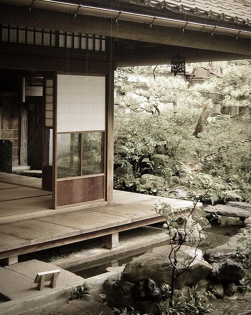 Traditional Japanese architecture and garden | Nomura House in Kanazawa, Japan