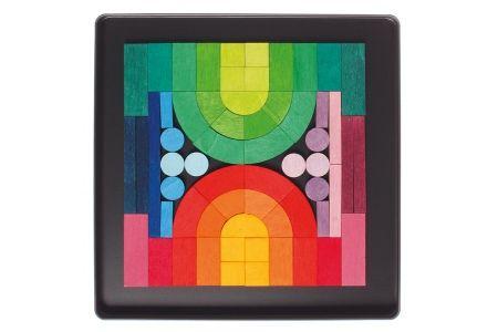 Puzzle magnétique Grimm's - Romanesque - Jeu magnétique 62 pièces