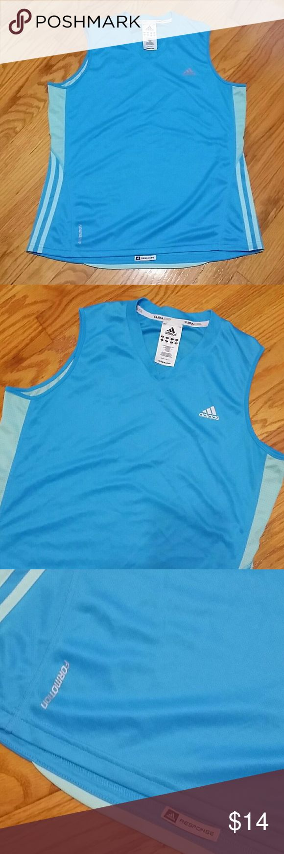 Adidas Clima Cool athletic tank top Adidas Clima Cool athletic tank top adidas Tops Tank Tops