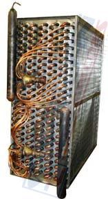Evaporator DX Coils are used in a wide variety of applications from comfort cooling and dehumidification to industrial and commercial processes and have been designed to meet a wide range of temperatures, from HVAC to sub-zero freezing applications. -http://surefincoils.com/evaporator-dx-coil.html