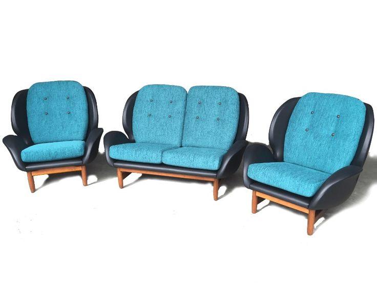 Danish Deluxe Three Piece Lounge Suite