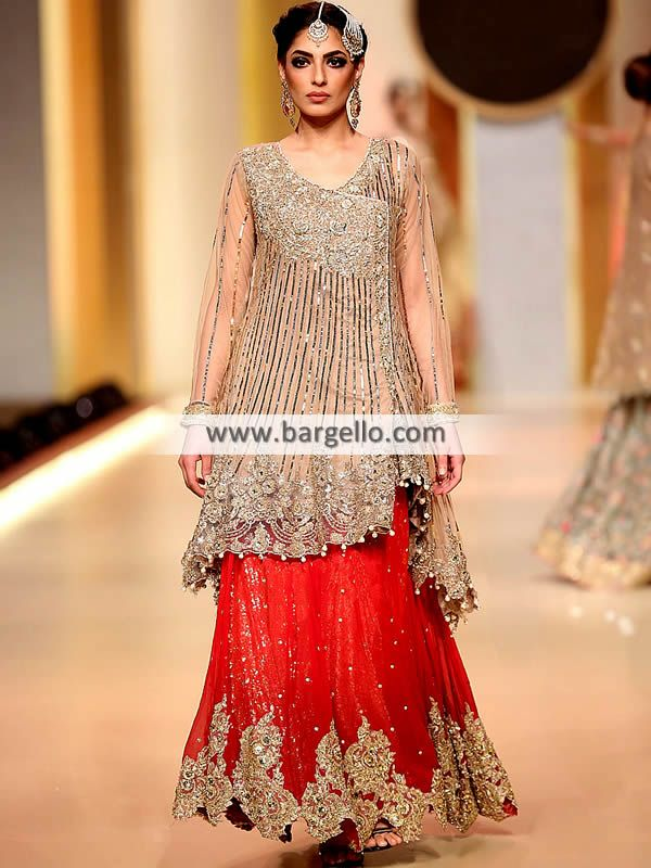 9c75524f7d Burlywood Dahlia Bridal Angrakha Dresses Manchester London UK Pakistani  Bridal Dresses Women > Dresses > Add