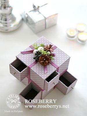 8つの引き出しのギフトBOX ❤ http://livedoor.blogimg.jp/roseberry_diary/imgs/a/4/a4933ff8.jpg