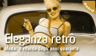 Moda: sofisticati Quaranta - Tornano gli anni del boom di Hollywood e del dopoguerra, tra cappotti in astrakan e tailleur in tweed. Con in testa Rita Hayworth e Lauren Bacall.