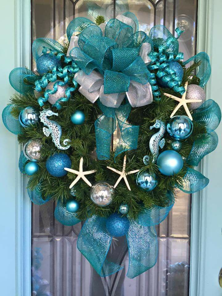 Silver Christmas Wreaths