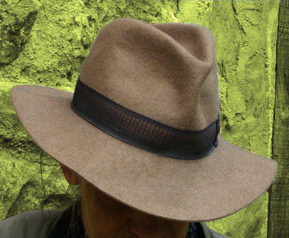 Vintage Genuine Borsalino Fedora Hat Alessandria by OhlalaaVintage