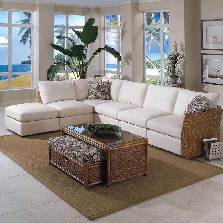 Grand Water Point 6 Piece Sectional Sofa by Braxton Culler