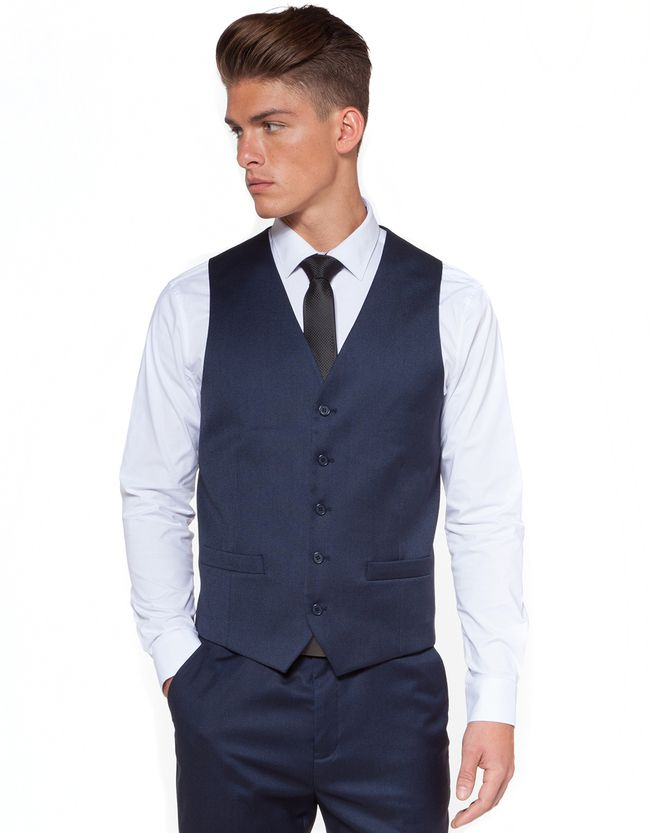 Geary St. Stretch Waistcoat | Men's Suit Waistcoats | Hallenstein Brothers