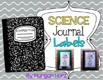 FREEBIE!! These fun science journal labels are perfect for your students! There are 8 different science kids to choose from (4 boys and 4 girls). Students can pick the science kid of their choice! Have your students write their name, color the picture, and glue the labels on to any notebook being used as a science journal. Hope you enjoy!
