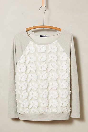 WIZWID:위즈위드 - [Anthropologie:앤트로폴로지] Petal-Pop Sweatshirt