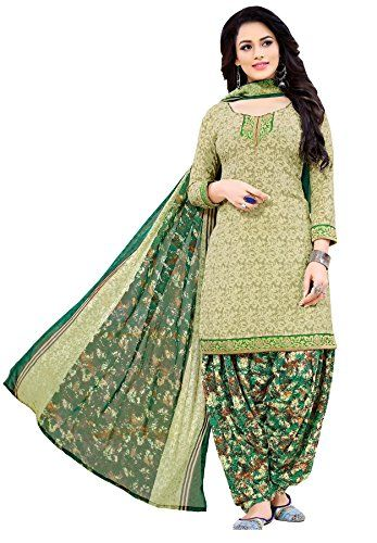 5fb69ac941 Spruce up your ethnic collection this season with this stylish unstitched  dress material from Salwar Studio. Once stitched, team your set with heels  or ...