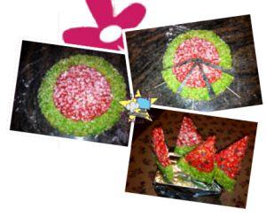 #Tortadiriso... che si crede un anguria! :-)