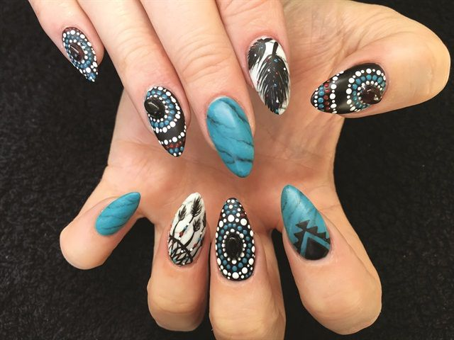 24 best Rock Hound Nail Art images on Pinterest | Locks, Rock and Stone