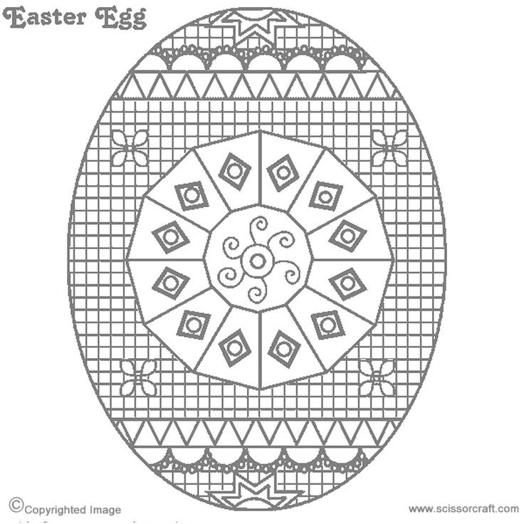 54 best Egg decorating patterns images on Pinterest