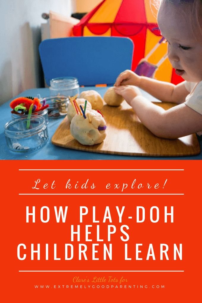 How playdough can teach vital skills to young learners from math to creativity and more. Why your toddlers, preschoolers, and kindergarteners should be playing with play-doh.
