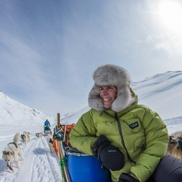 Glide across ice-covered landscapes under clear skies. Dog sledding in Greenland is a fantastic and unequalled experience. Read more here.