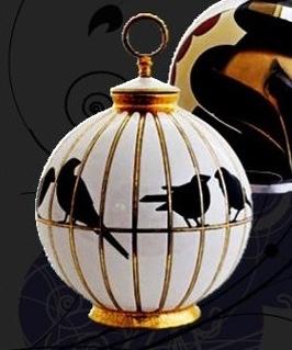 Bonbonniere Sarreguemines Art Deco Decor