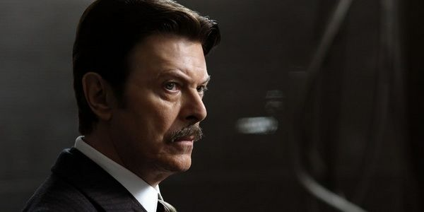 Bowie as the enigmatic inventor Nikola Tesla in Christopher Nolan's 2006 film The Prestige.
