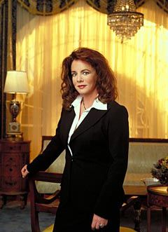 """First Lady of the United States Abigail """"Abbey"""" Anne Barrington Bartlet (Stockard Channing)"""