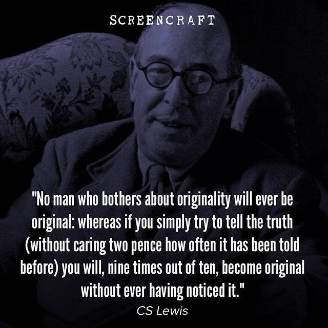 writing cslewis quote